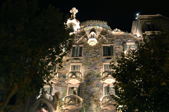 Gaudi's appartements in Barcelona