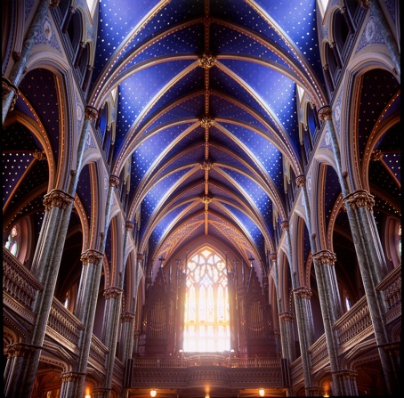 Basilic Notre-Dame of Ottawa by Mathieu Girard Photographe